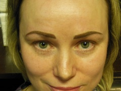 photo eyebrow permanent makeup results kiev
