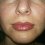 татуаж губ, фото сразу после процедуры (3)